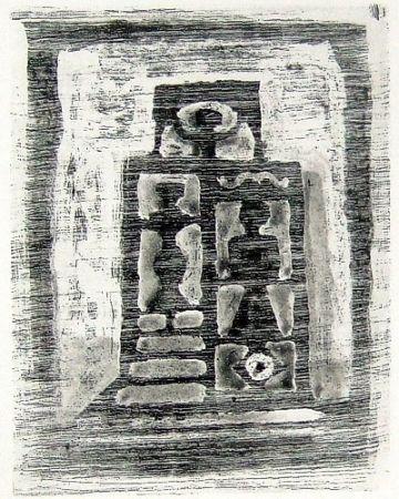 Eau-Forte Et Aquatinte Campigli - Il tempio delle donne