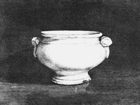 Eau-Forte Cacciarini - Il vaso bianco