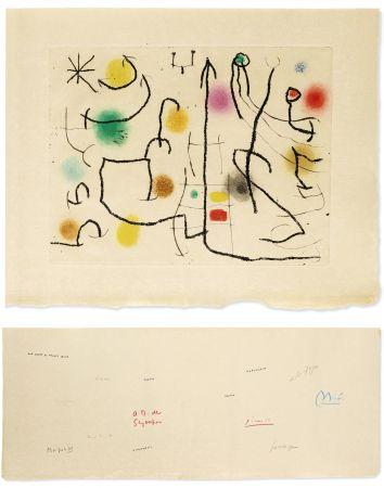 Livre Illustré Miró - ILIAZD: HOMMAGE À ROGER LACOURIÈRE [Picasso, Miro, Giacometti...] 1968.