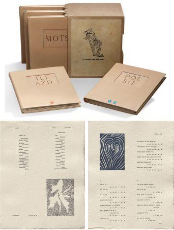 Livre Illustré Matisse - ILIAZD (Ilia Zdanevitch, dit.) POÉSIE DE MOTS INCONNUS. Gravures de Picasso, Matisse, Braque, Miro, Léger, Chagall, Giacometti, etc. 1949.