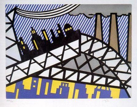 Eau-Forte Et Aquatinte Lichtenstein - Illustration For