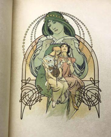 Livre Illustré Mucha - ILSÉE, PRINCESSE DE TRIPOLI. 132 lithographies de Mucha