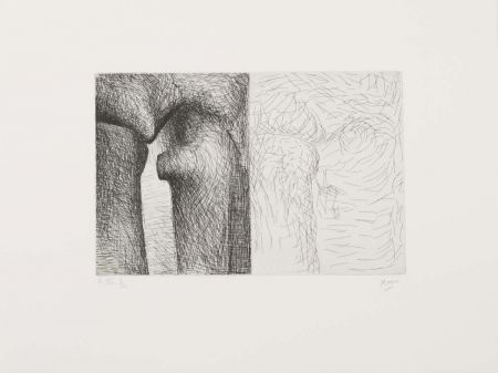 Gravure Moore - Ilusionist drawings-Linear technique