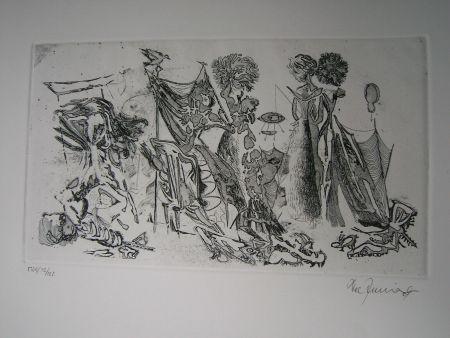 Eau-Forte Et Aquatinte Zimmermann - Im Atelier des...  II
