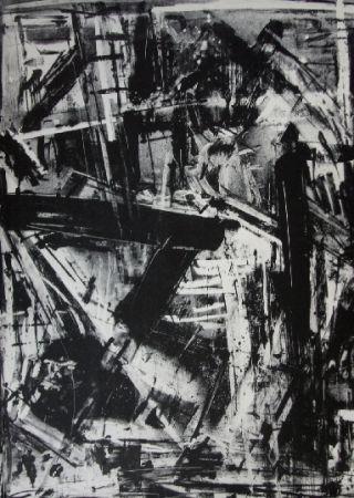 Lithographie Vedova - Immanente 2