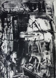 Lithographie Vedova - Immanente 3