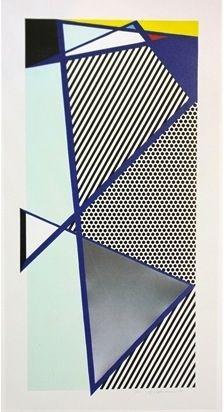 Gravure Sur Bois Lichtenstein - Imperfect Print for B.A.M.