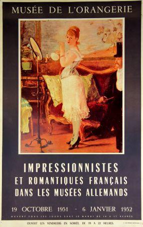 Offset Manet - Impressionistes et Romantiques  Musee de L'Orangerie