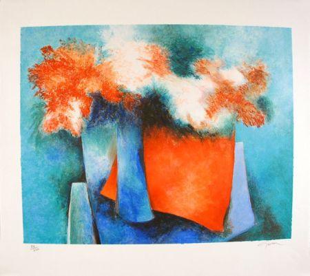 Lithographie Gaveau - Impressions Florales
