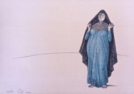 Lithographie Zuniga - Impressions of Egipto (Egypt) plate 1