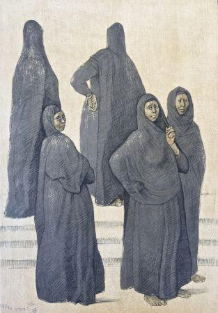 Lithographie Zuniga - Impressions of Egipto (Egypt) plate 3