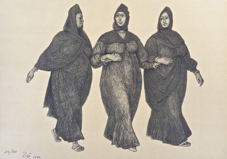 Lithographie Zuniga - Impressions of Egipto (Egypt) plate 5