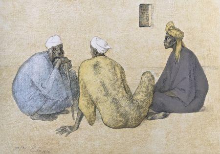 Lithographie Zuniga - Impressions of Egipto (Egypt) plate 6