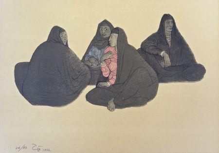 Lithographie Zuniga - Impressions of Egipto (Egypt) plate 7