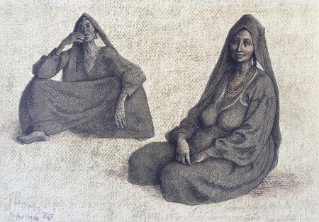 Lithographie Zuniga - Impressions of Egipto (Egypt) plate 8