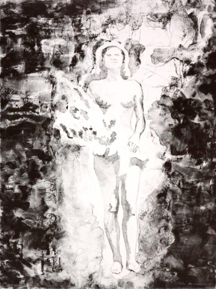 Lithographie Siversten - In between