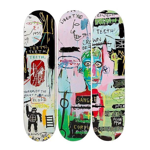 Lithographie Basquiat - In Italian