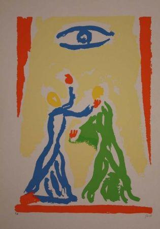 Lithographie Guidi - Incontri