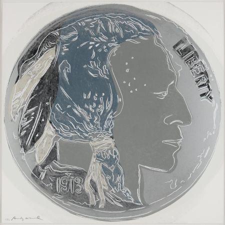 Sérigraphie Warhol - Indian Head Nickel