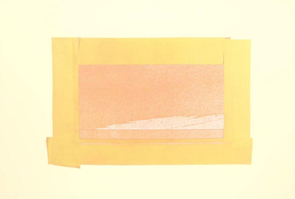 Sérigraphie Hodgkin - Indian Views – Plate H