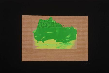 Sérigraphie Hodgkin - Indian Views Suite – Plate D