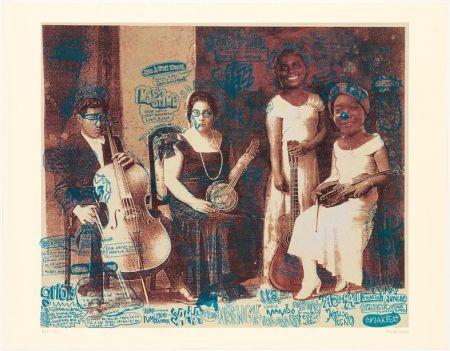 Lithographie Romero - Ingredientes Musicales