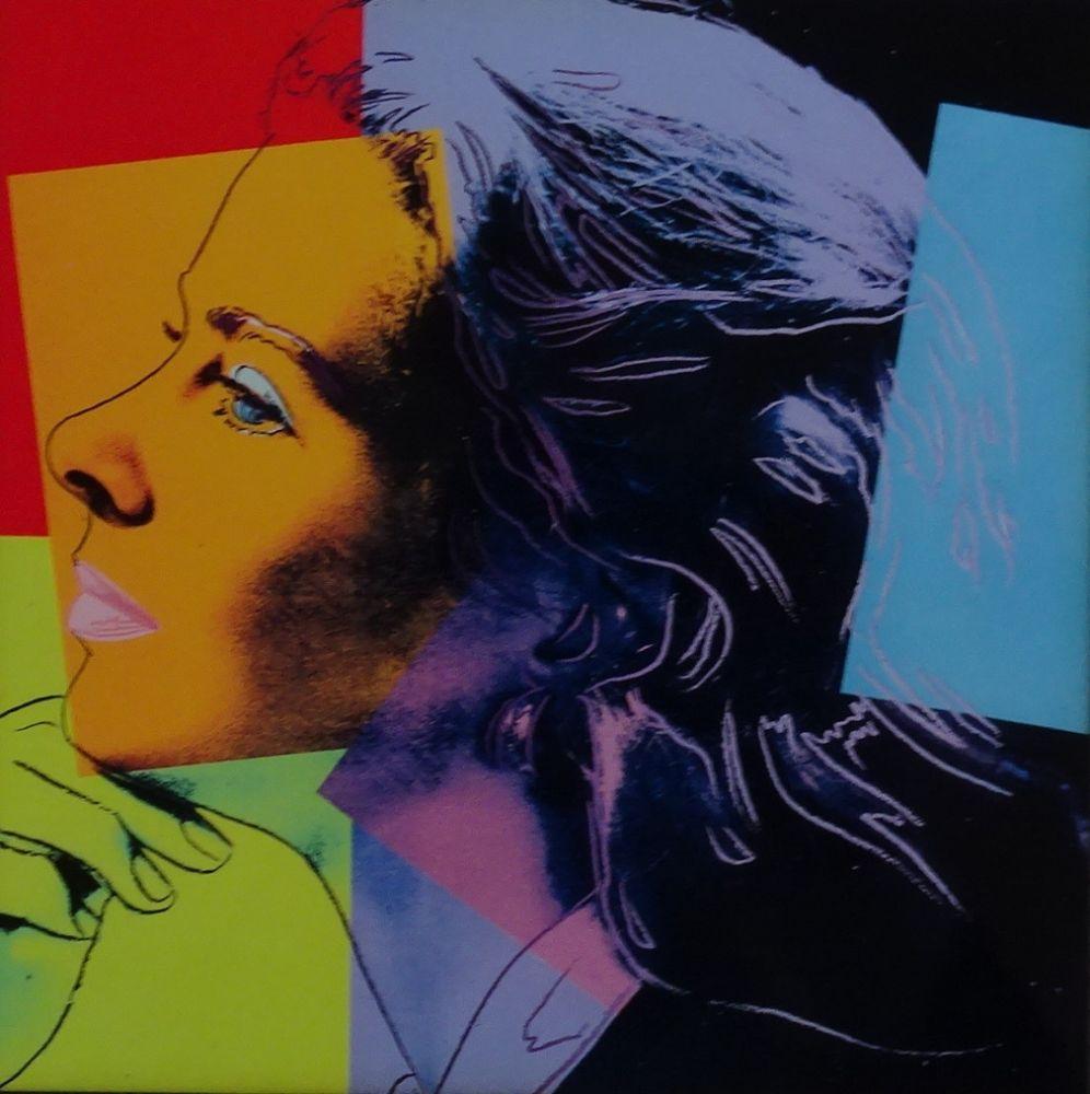 Sérigraphie Warhol - Ingrid Bergman