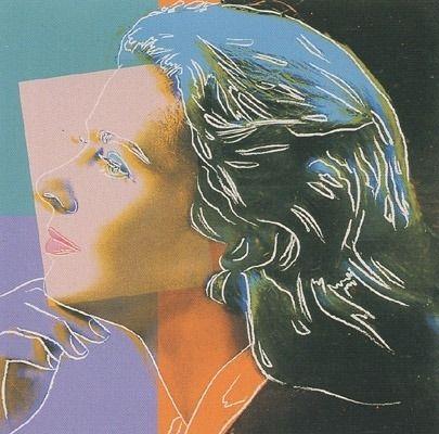 Sérigraphie Warhol - Ingrid Bergman - Herself