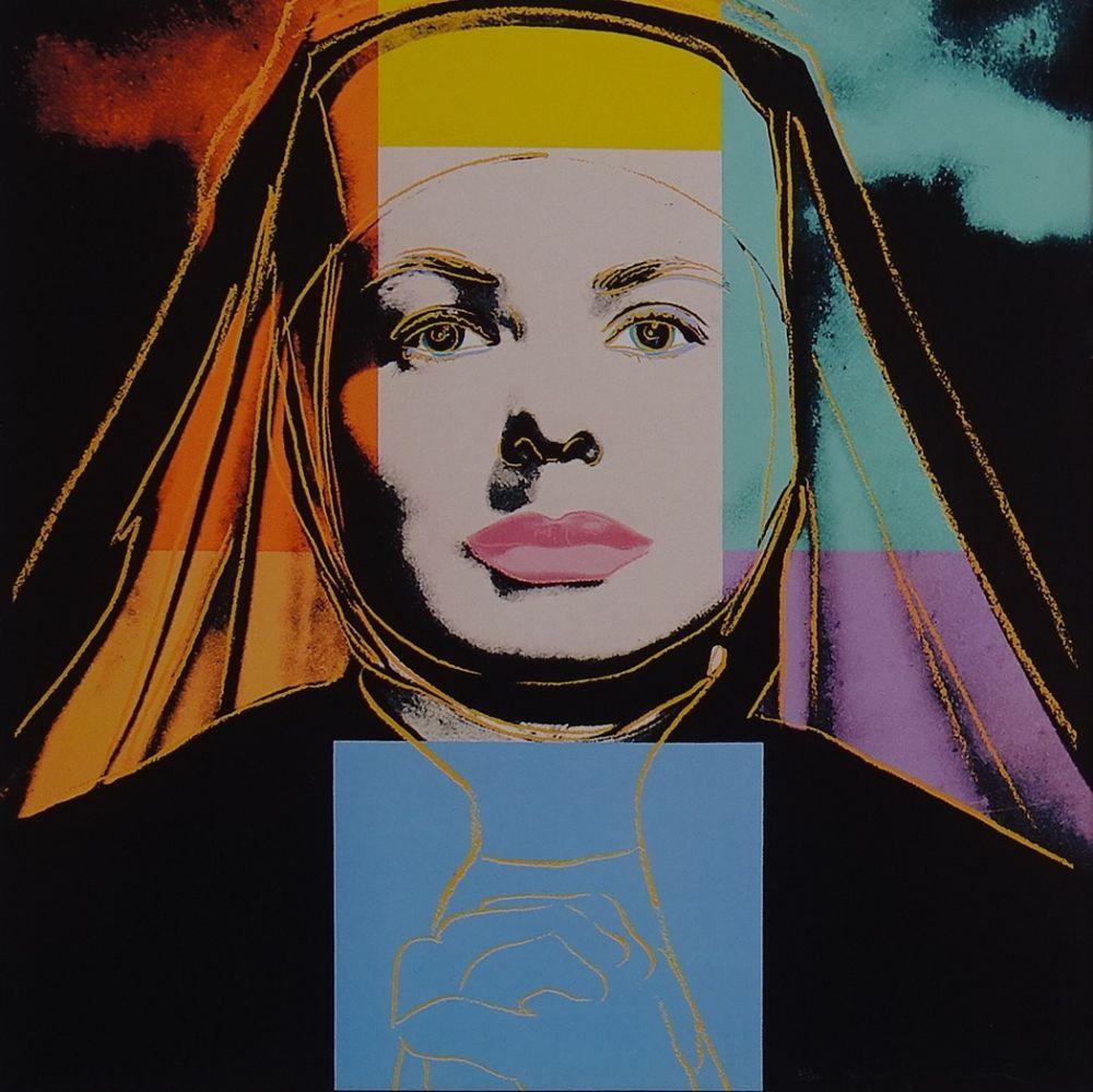 Sérigraphie Warhol - Ingrid Bergman - The bells of St. Mary´s