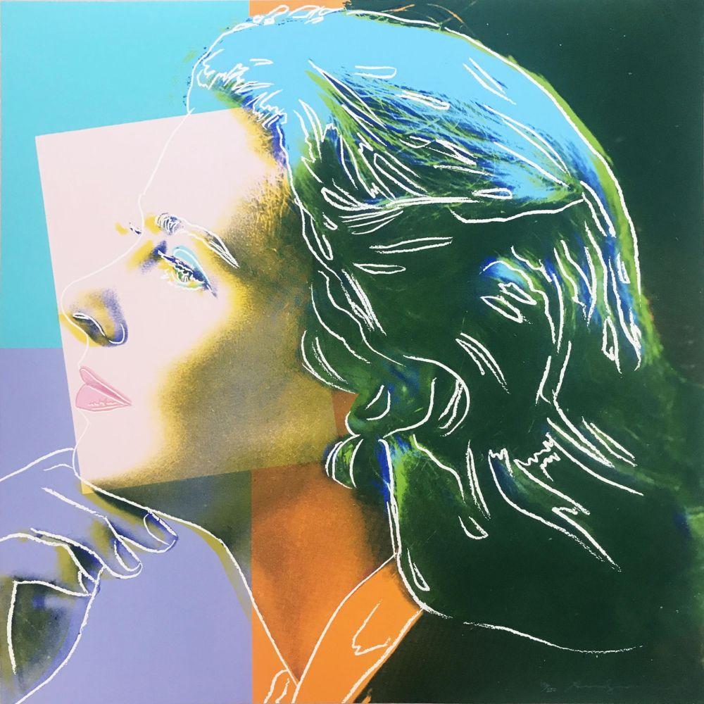 Sérigraphie Warhol - Ingrid Bergman: Herself