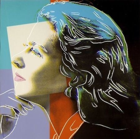 Sérigraphie Warhol - Ingrid Bergman Herself