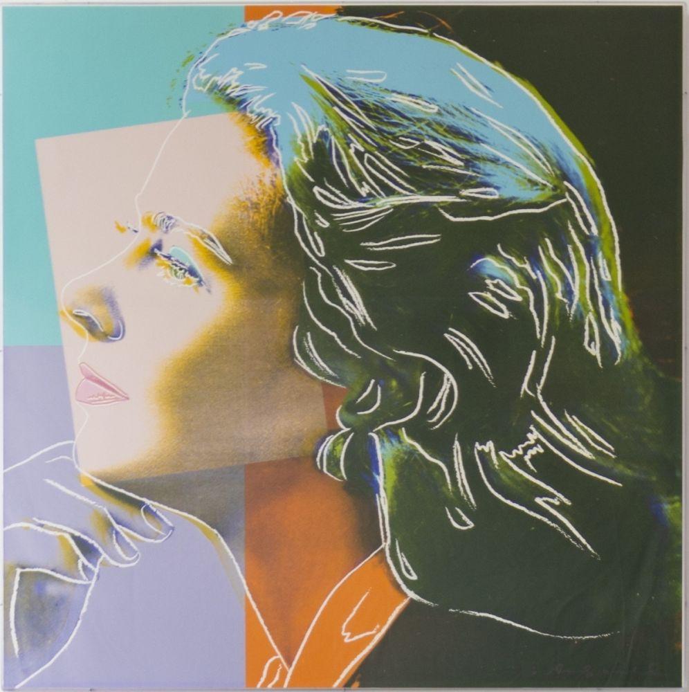 Sérigraphie Warhol - Ingrid Bergman, Herself (FS II.313)