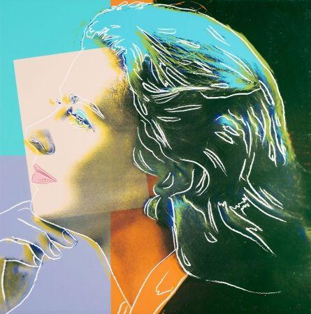 Sérigraphie Warhol - Ingrid Bergman, Herself FS II.313