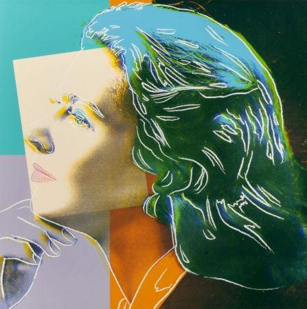 Sérigraphie Warhol - Ingrid Herself