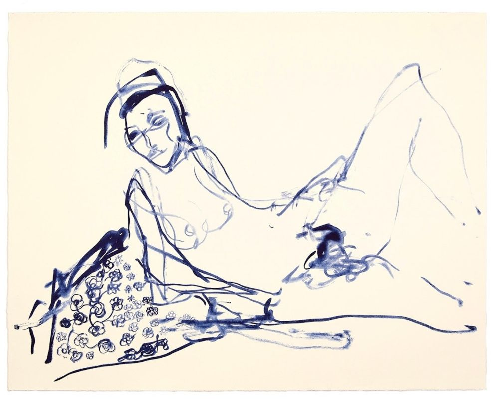 Lithographie Emin - Innocence
