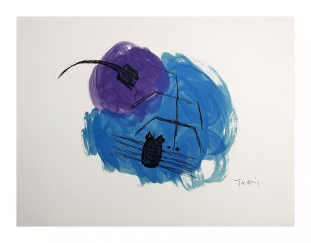 Lithographie Takis - Insectes