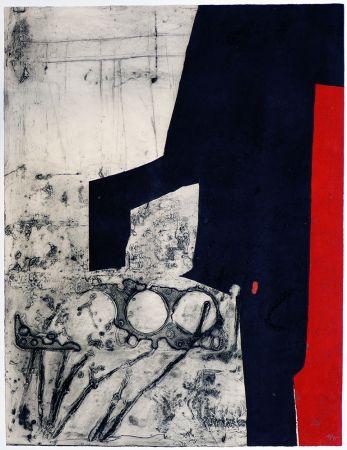 Gravure Clavé - Instrument bande rouge