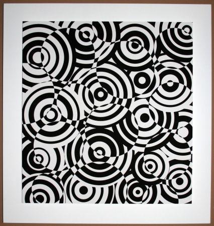 Aucune Technique Asis - Interférences cercle noir et blanc