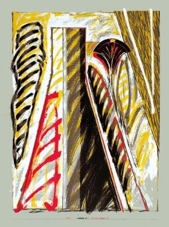 Lithographie Titus Carmel - Interieur