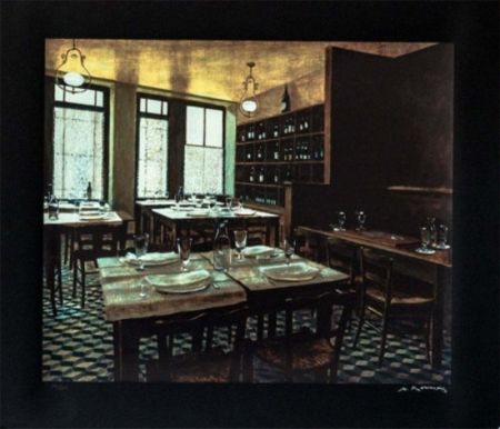 Sérigraphie Renoux - Interior Van Gogh
