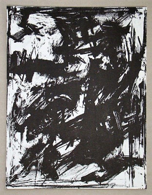 Lithographie Vedova - Intolleranza 1960