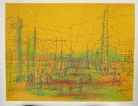 Lithographie Carzou - Invasion