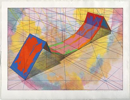 Lithographie Davis - Invert Span