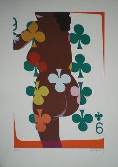 Lithographie Jacquet - Irish coffee