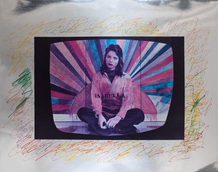 Sérigraphie Angeli - Isabella Rossellini