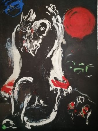 Lithographie Chagall - Isaie