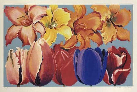 Sérigraphie Nesbitt - ISLAND OF FLOWERS