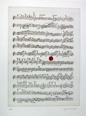 Livre Illustré Parmiggiani - Israel. Three Poems