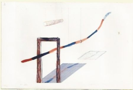 Gravure Hockney - It picks it's away