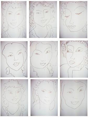 Livre Illustré Matisse - J.-A. NAU : POÉSIES ANTILLAISE (28 lithographies originales)